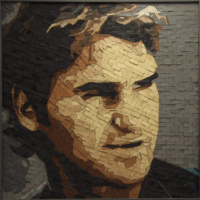 Roger Federer 100 x 100 cm